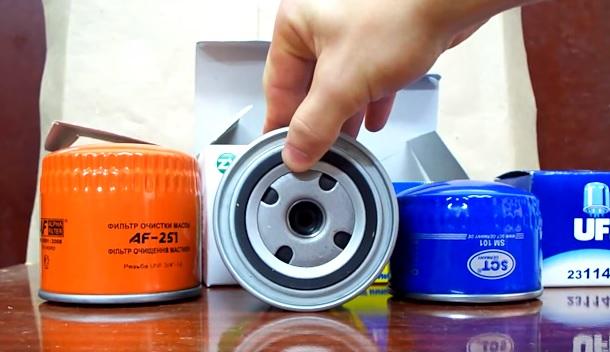 Масляные фильтры для автомобилей Лада