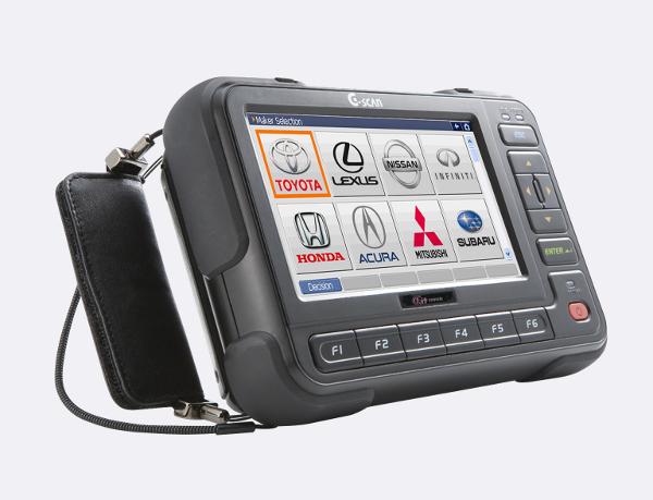 Сканер для тестирования машины