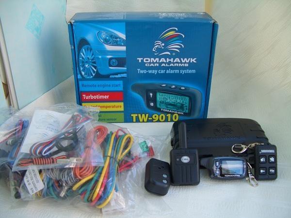 Новая сигнализация Tomahawk 9010