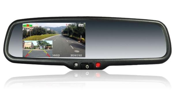 Современное многофункциональное зеркало с функцией регистратора, GPS-навигатора и антирадара