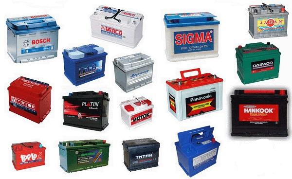 Типы аккумуляторных батарей