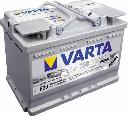 Аккумулятор Е39 от производителя Varta