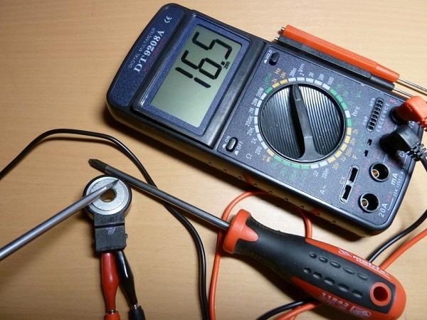 Мультиметр для проверки