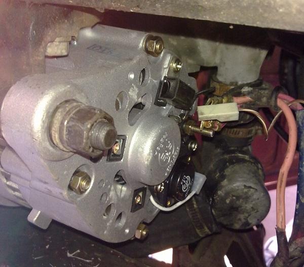 Снятый для ремонта агрегат