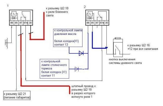 Простой способ монтажа оптики ДХО с датчиком масла