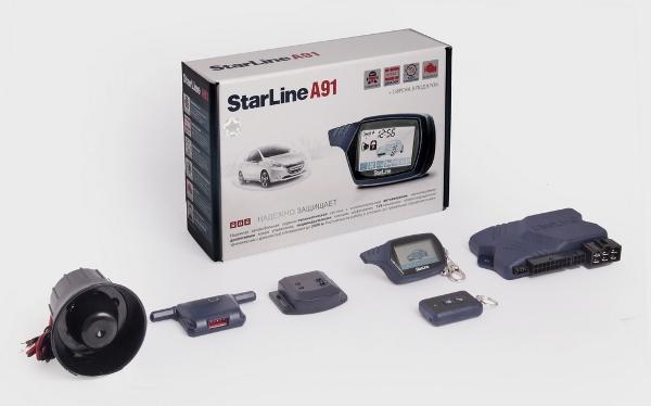 Starline A91 — надежная охранная система для работы в условиях городских радиопомех