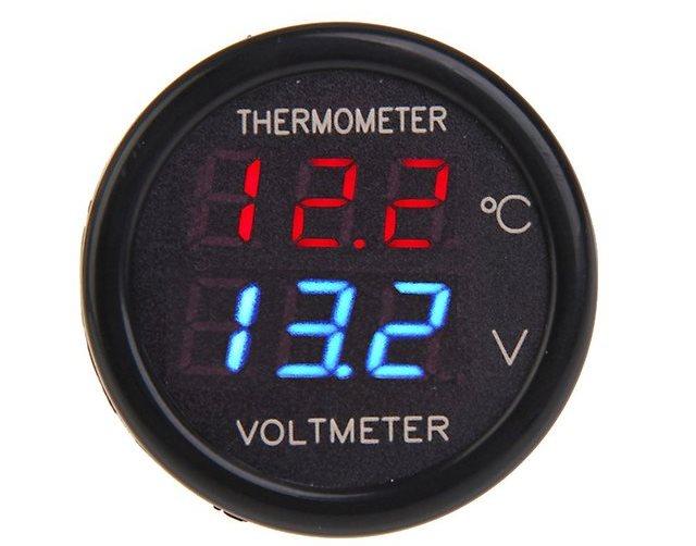 Комбинированный прибор с термометром