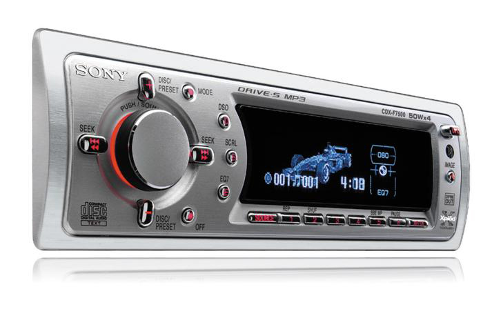 Автомобильная магнитола Sony CDX F7500