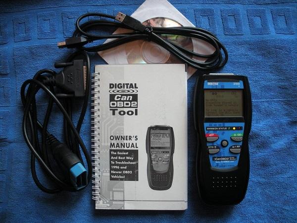 Адаптер OBD-2 для сканирования