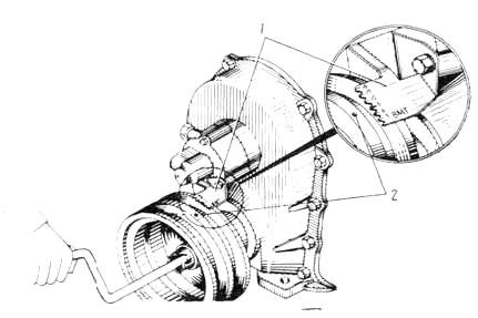 Схема работы системы зажигания на отечественном грузовике