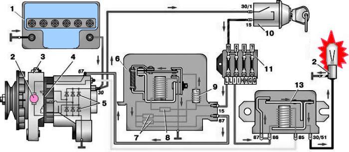Схема соединений устройства