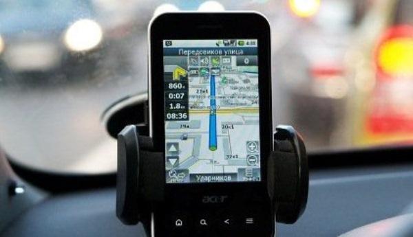 Использование смартфона в качестве навигационного девайса