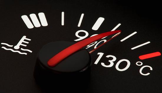 Датчик температуры двигателя на приборке