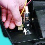 Произведите демонтаж АП, а также диодного элемента.