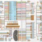 Электросхема Калины в кузове седан