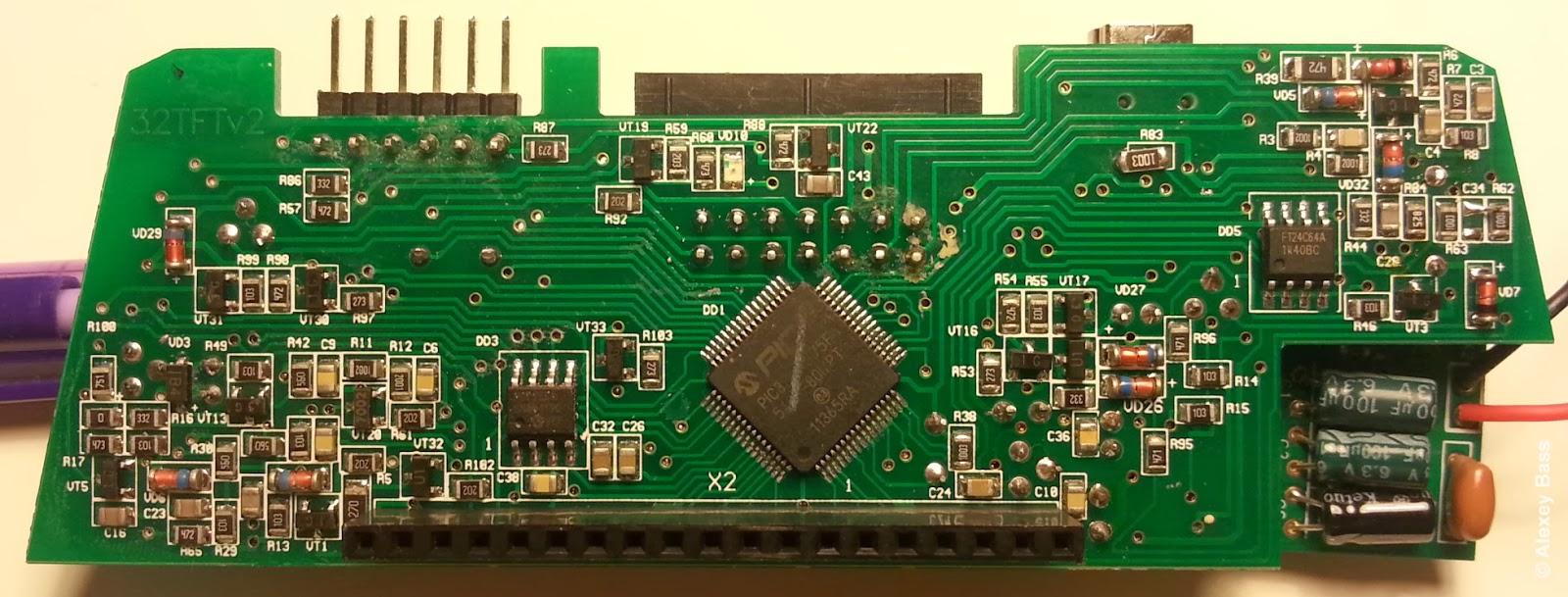 Multitronics VC731 основная плата