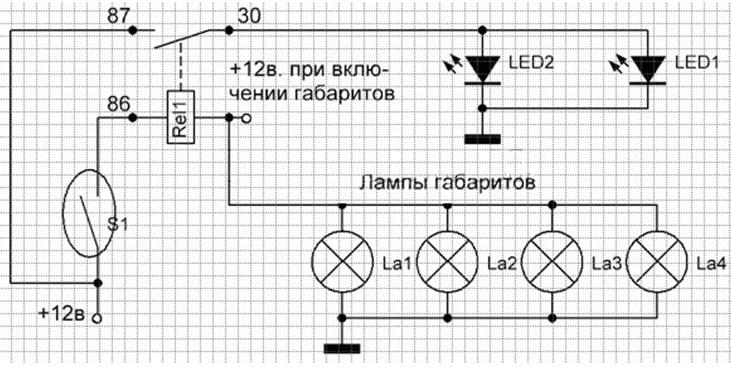 Схема 3 для соединения оптики