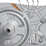 Схема для меток на коленвале и моторе