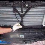 Снятие радиатора с авто