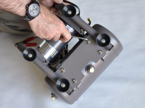Снятие рамы с компрессора
