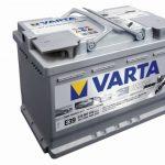 Автомобильная батарея Varta