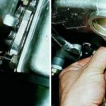 Демонтаж ДУТ на 8-клапанном моторе