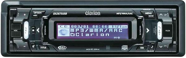 Автомагнитола Clarion для автомобиля
