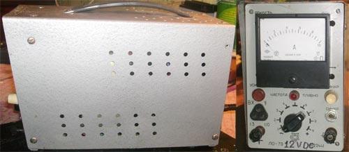 Простое тиристорное ЗУ в корпусе осциллографа