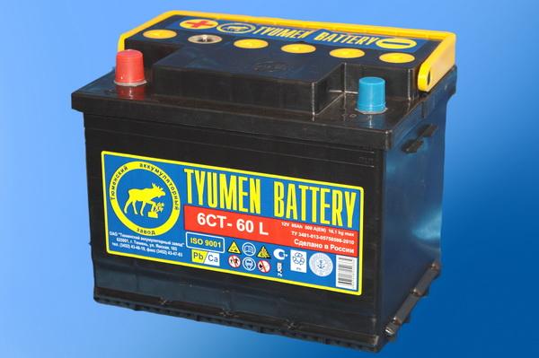 Аккумулятор 6СТ-60