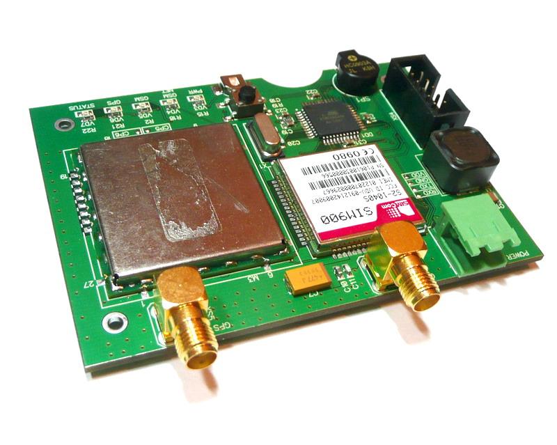 Внутренняя плата GSM-трекера