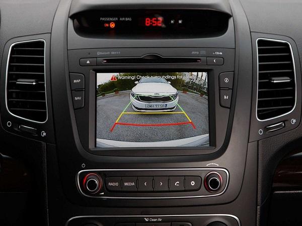 Монитор радара парковки