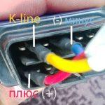 Распиновка кабеля OBD-II