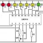 Схема LM3914