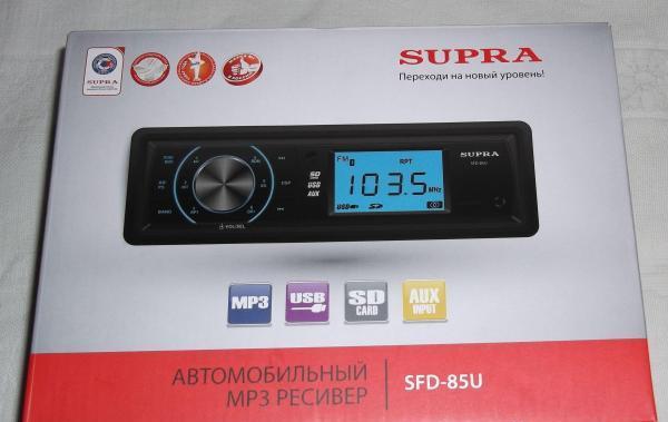 Автомобильный ресивер SFD - 85U