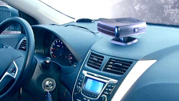 Тепловетилятор на центральной консоли авто