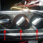 Демонтируйте регуляторы отопительной системы.