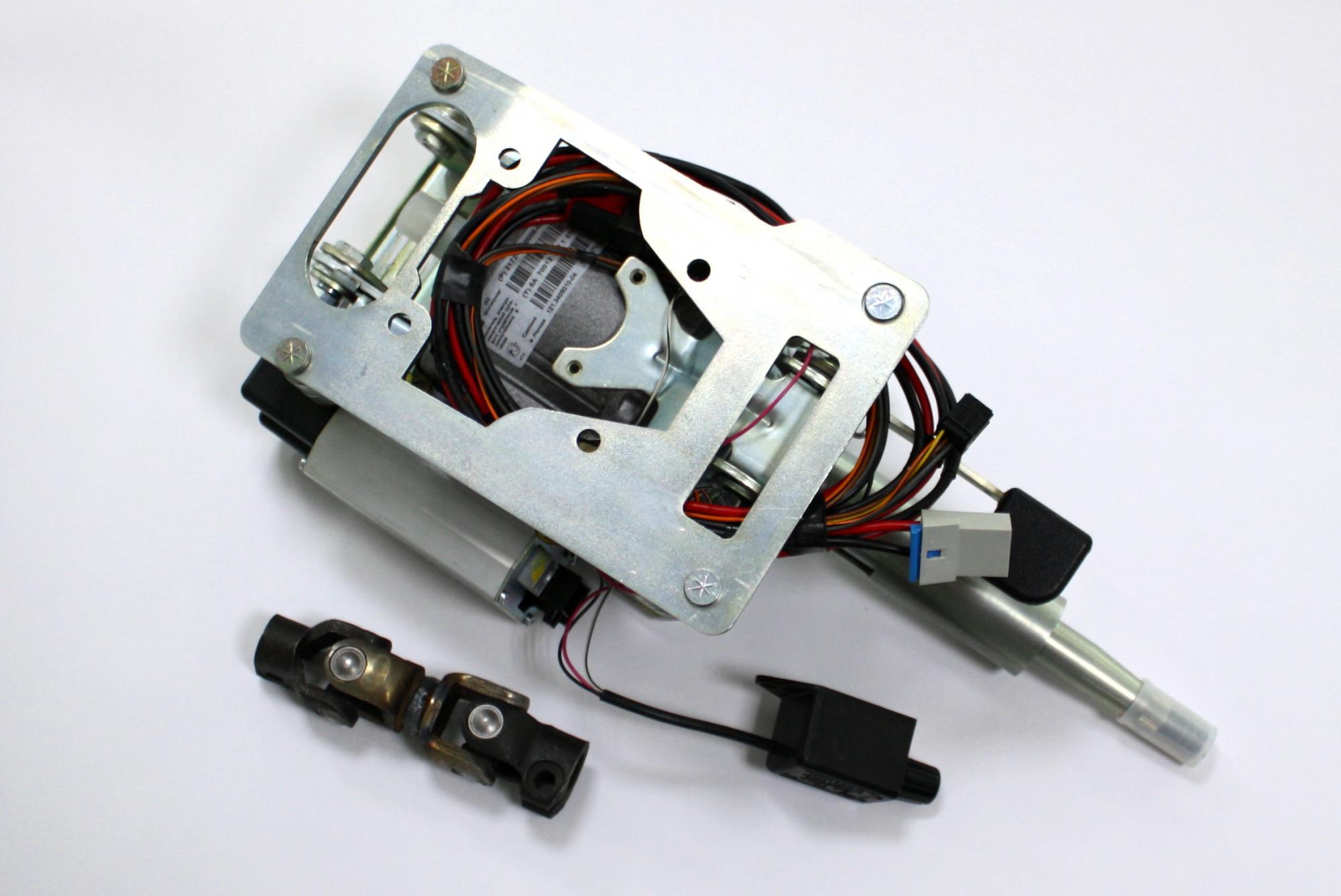 «Семерочный» электроусилитель в снятом виде