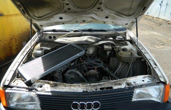 Производим замену радиатора печки на автомобилях Ауди 80 и 100 своими силами
