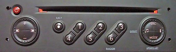 Панель, через которую вводится шифр