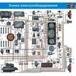 Электрическая схема ЗИЛ 131
