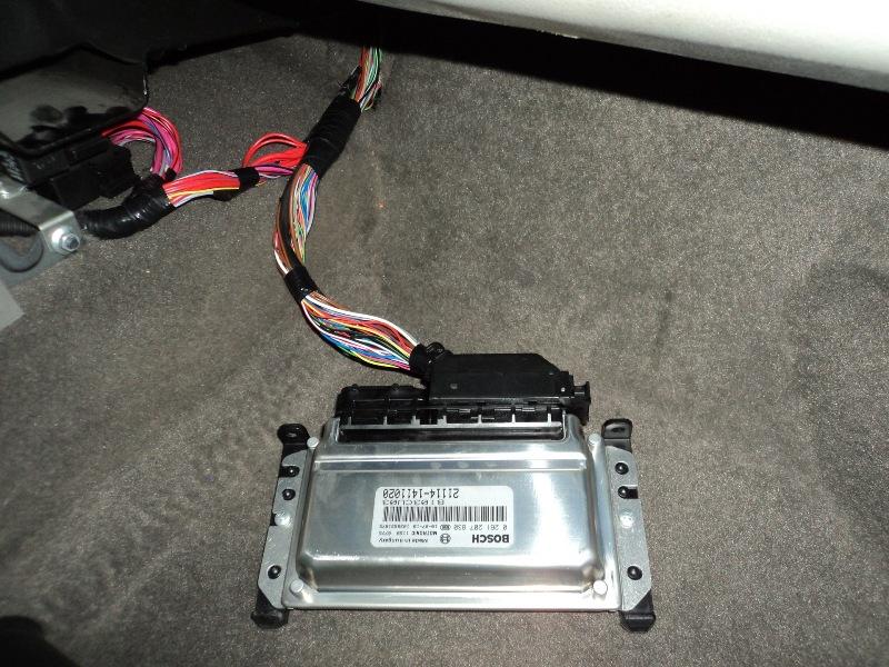 Управляющий контроллер в ВАЗ 2110