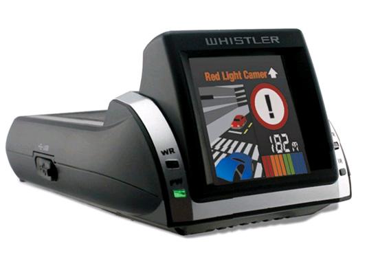 Детектор Whistler с GPS