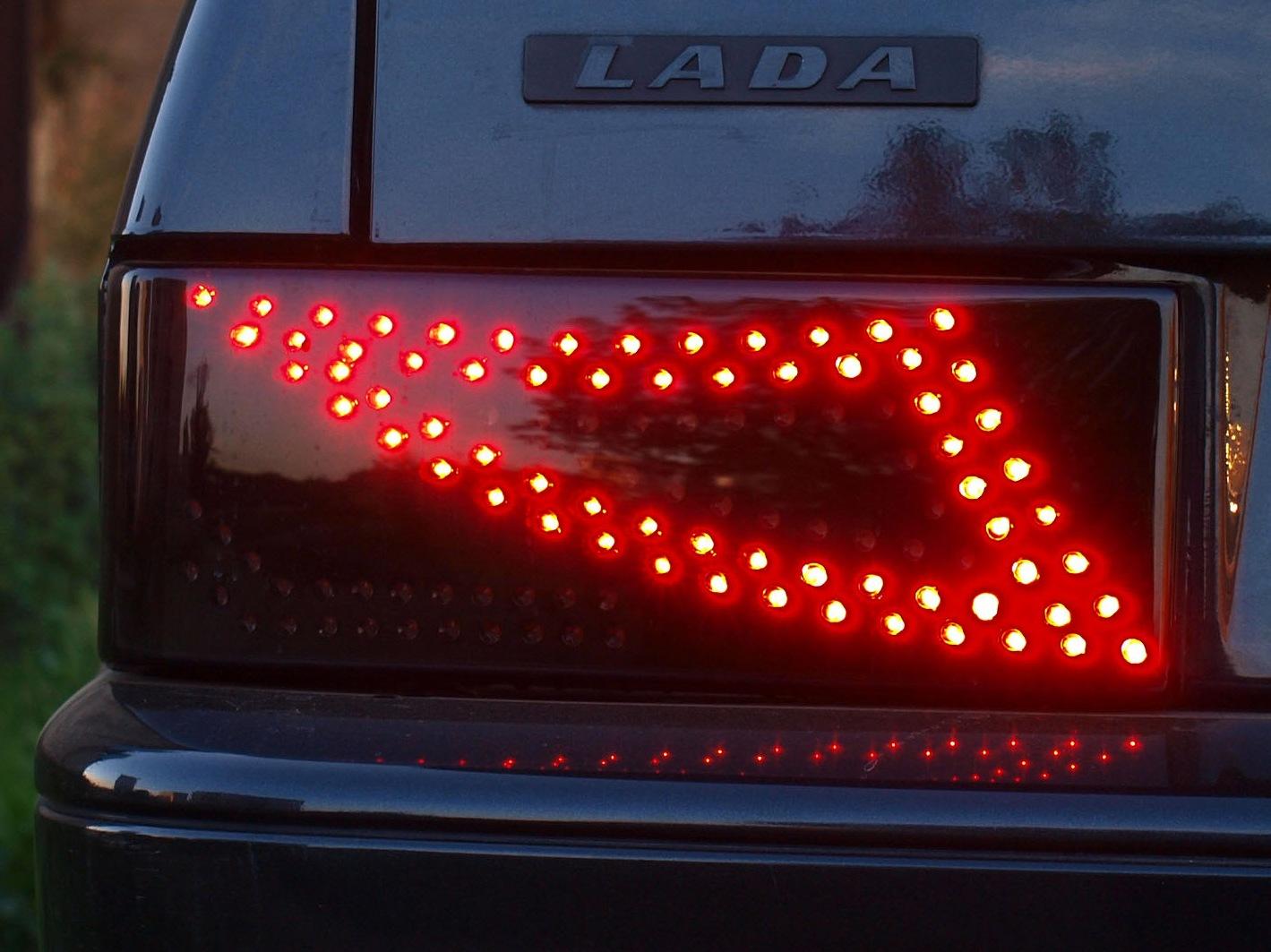 Светодиоды в задние фонари