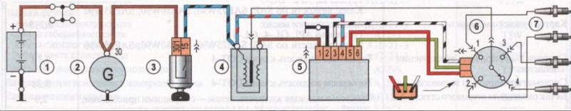 screenshot 4 3683 - Схема проводки света ваз 2106