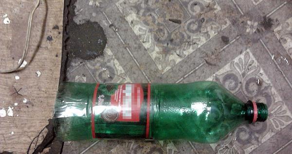 Фото пластиковой бутылки со срезанным днищем