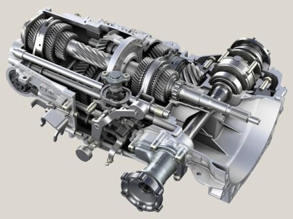 Фото 7-ми ступенчатой механической трансмиссии