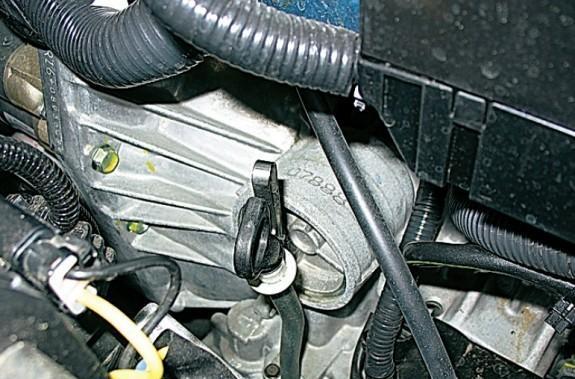 Фото коробки передач на Lada