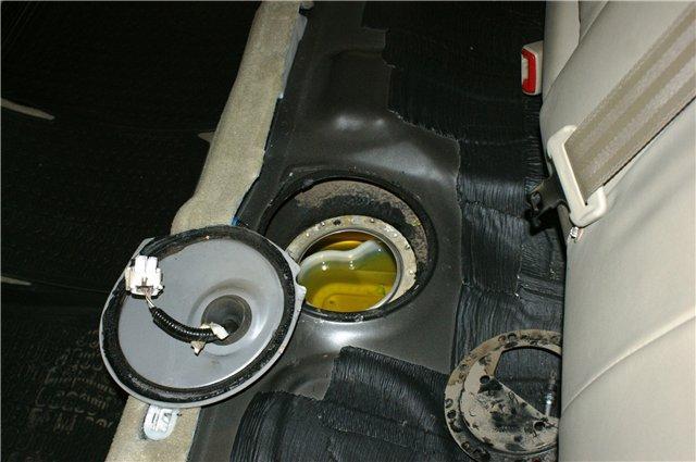Фото отверстия для установки очистительного элемента