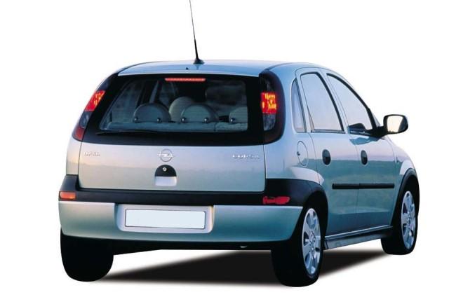 Фото Opel Corsa, вид сзади