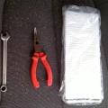 Фото инструментов необходимых для самостоятельной замены салонного фильтра